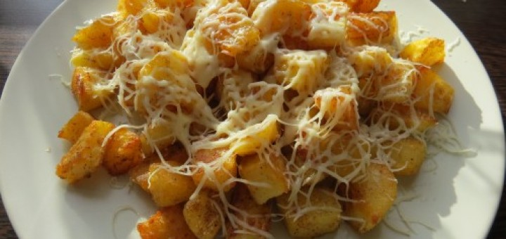 Tepsiben sült krumpli